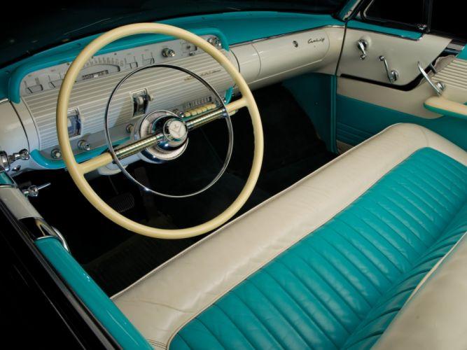 1955 Lincoln Capri Convertible retro g wallpaper