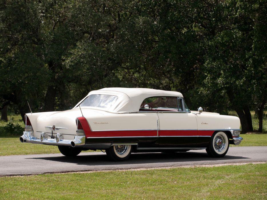 1955 Packard Caribbean Convertible Coupe retro luxury  b wallpaper