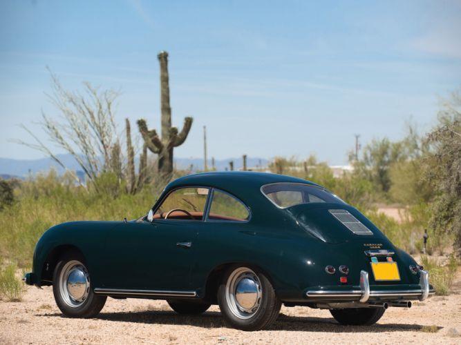 1955 Porsche 356 A Coupe retro f wallpaper