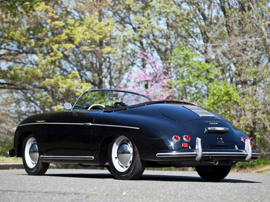 1955 Porsche 356 Speedster retro supercar supercars  n wallpaper