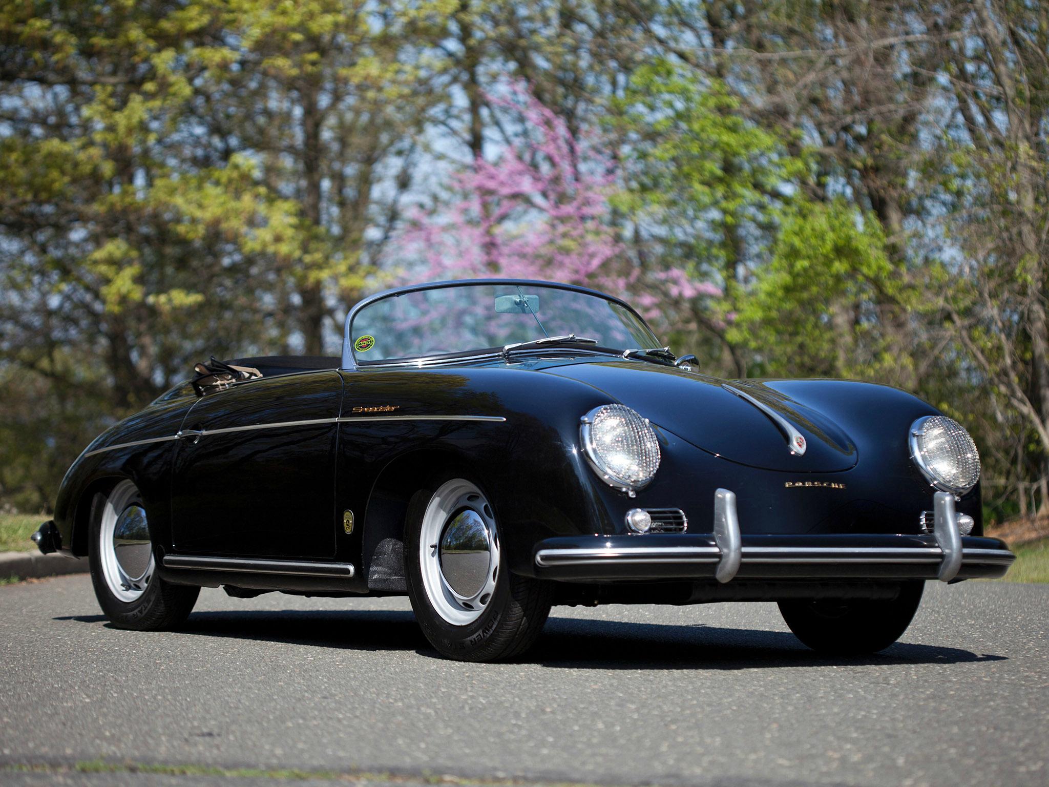 1955 Porsche 356 Speedster Retro Supercar Supercars F