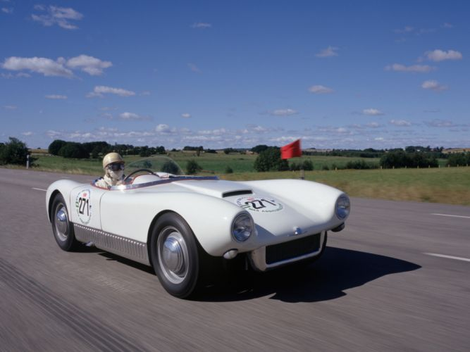 1955 Saab Sonett I race racing retro g wallpaper