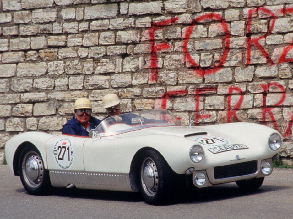 1955 Saab Sonett I Race Racing Retro F Wallpaper 1600x1200