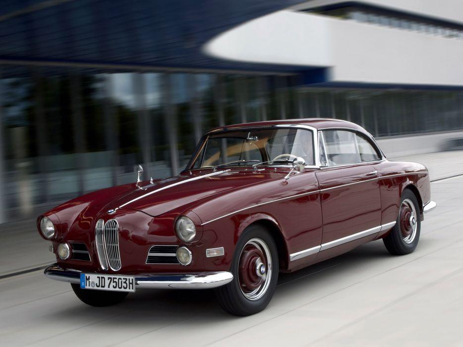 1956 BMW 503 Coupe retro    f wallpaper