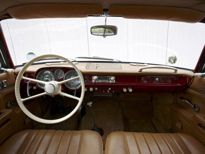 1956 BMW 503 Coupe retro interior wallpaper