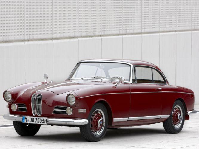 1956 BMW 503 Coupe retro wallpaper