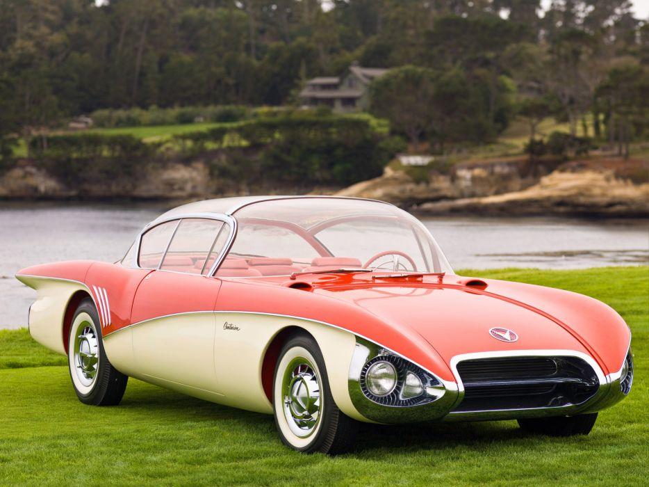 1956 Buick Centurion Concept retro    f wallpaper
