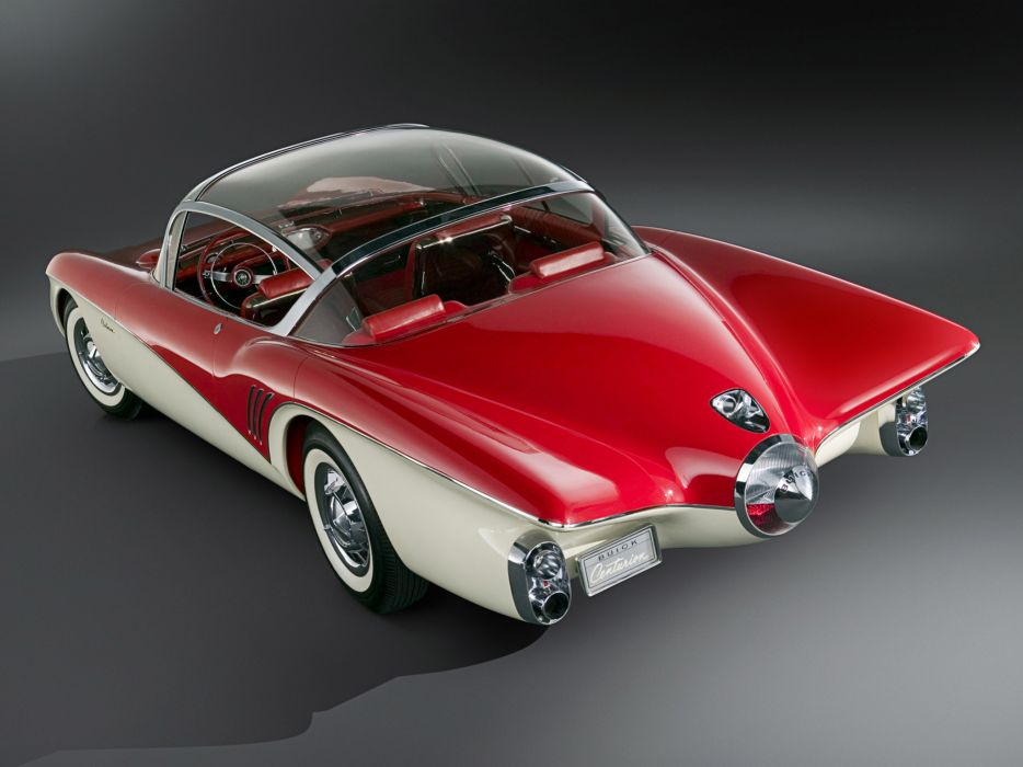 1956 Buick Centurion Concept retro interior      f wallpaper