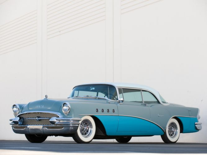 1956 Buick Super Riviera retro luxury wallpaper