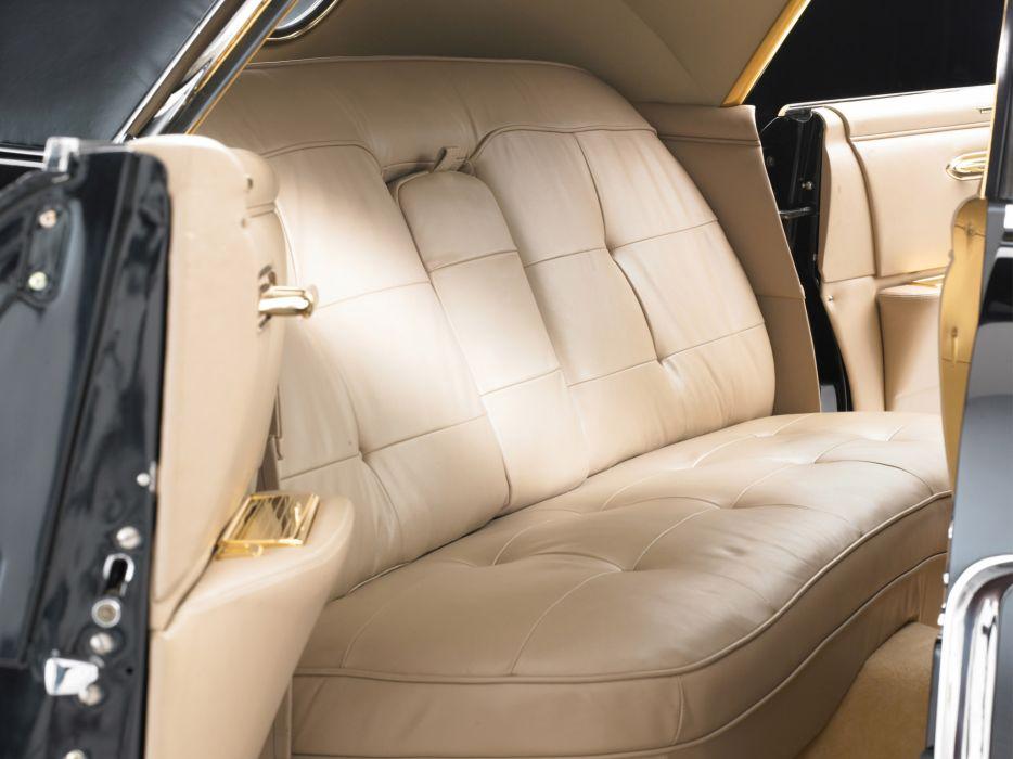 1956 Cadillac Eldorado Brougham TownCar retro luxury interior wallpaper