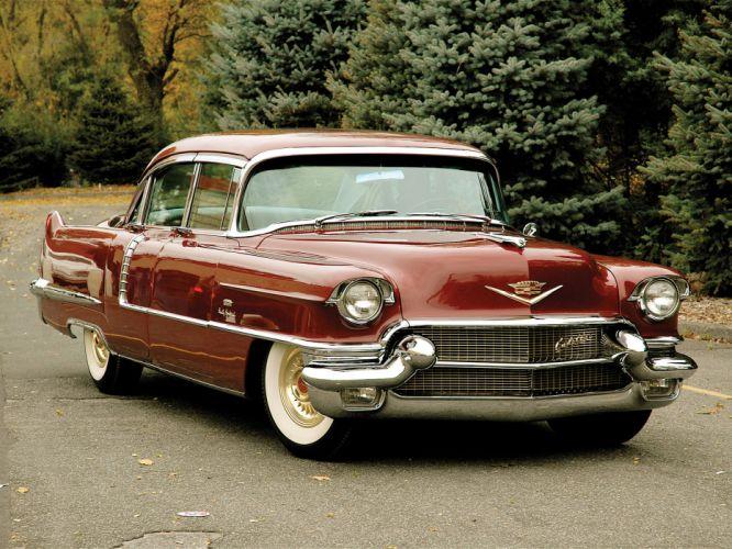 1956 Cadillac Maharani Special retro luxury wallpaper