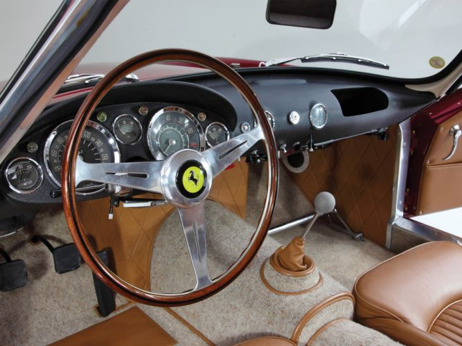 1956 Ferrari 250 GT Tour-de-France retro g-t supercar supercars interior w wallpaper