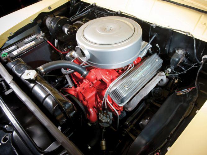 1956 Ford Country Sedan stationwagon retro engine engines f wallpaper