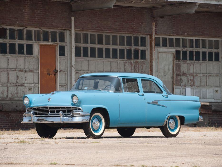 1956 Ford Mainline Sedan retro wallpaper