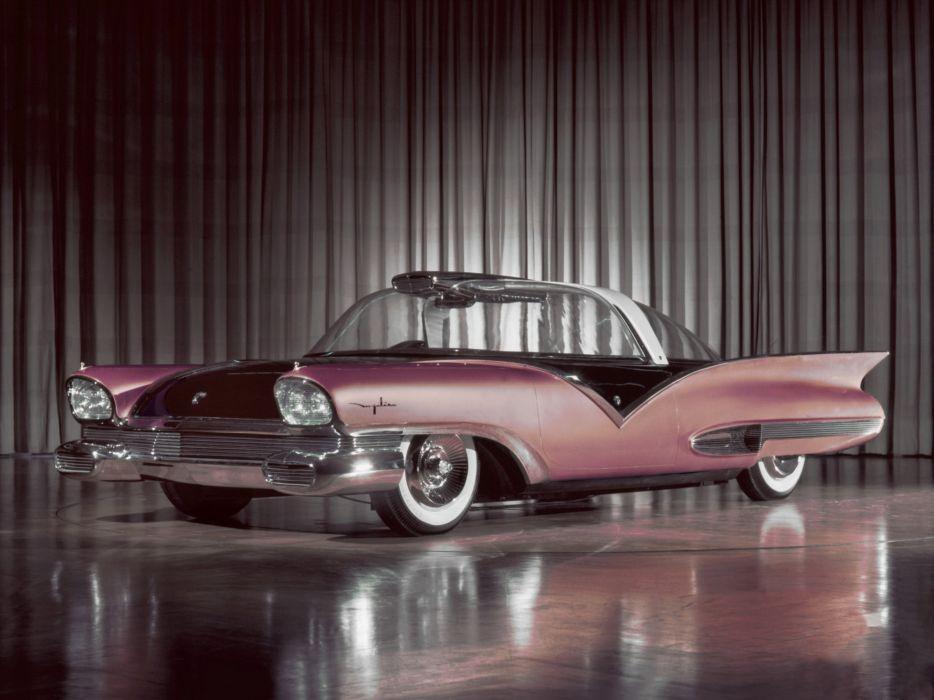 1956 Ford Mystere Concept retro wallpaper