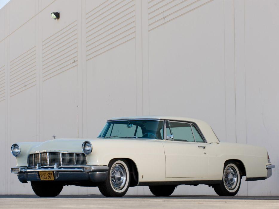 1956 Lincoln Continental Mark-II mark retro luxury    ff wallpaper