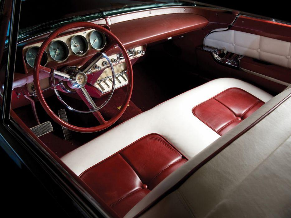 1956 Lincoln Continental Mark-II mark retro luxury interior     c wallpaper