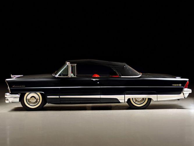 1956 Lincoln Premiere Convertible retro luxury g wallpaper