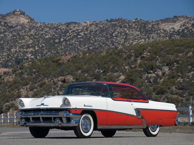 1956 Mercury Montclair retro luxury wallpaper
