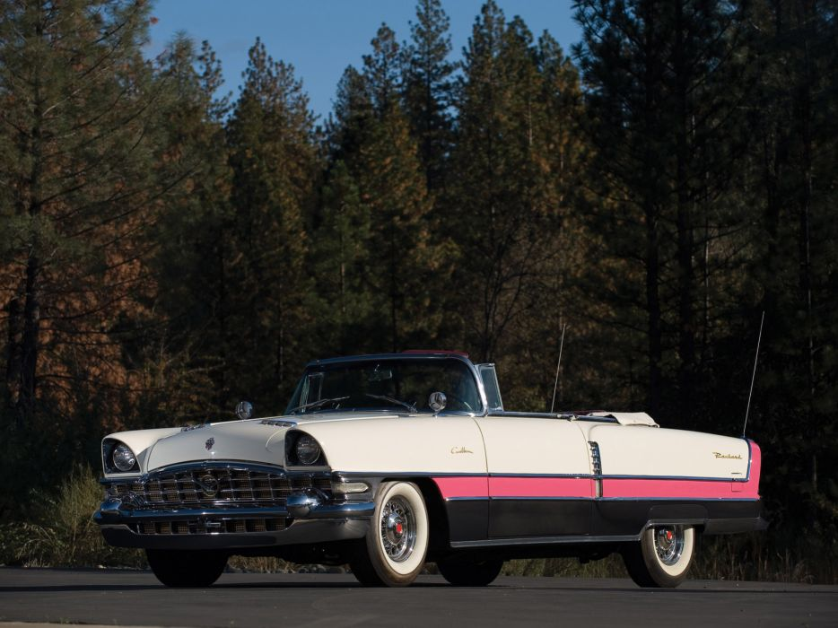 1956 Packard Caribbean Convertible Coupe retro luxury   g wallpaper