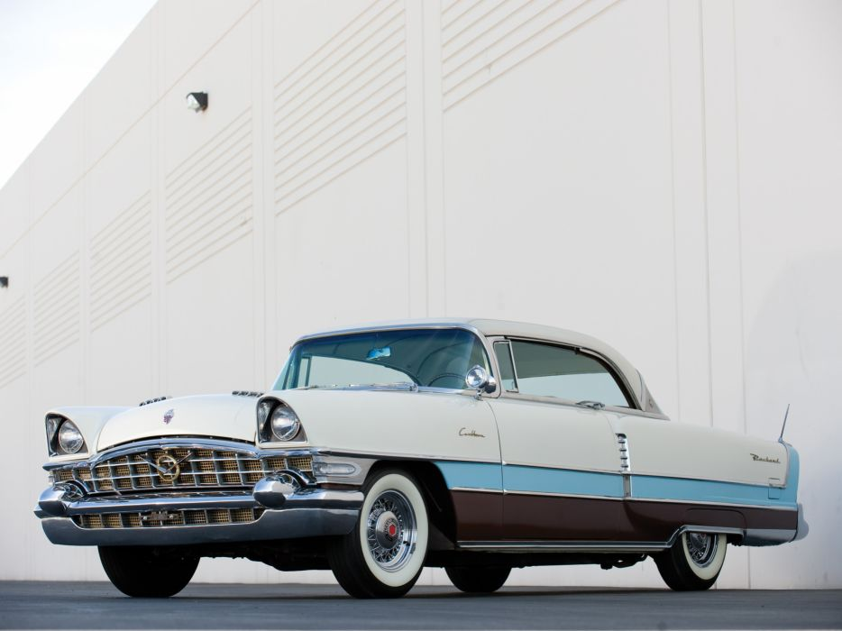 1956 Packard Caribbean Hardtop Coupe retro luxury wallpaper