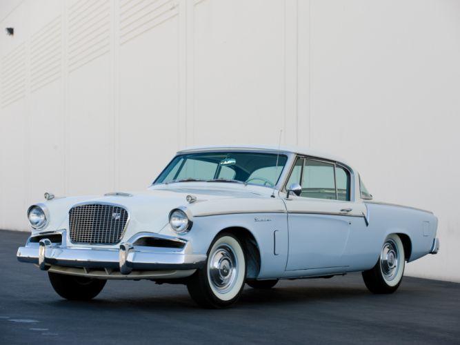 1956 Studebaker Sky Hawk Coupe retro g wallpaper