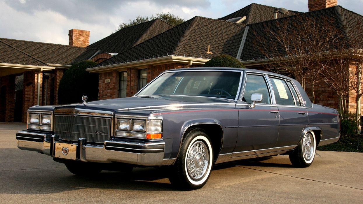 Cadillac Fleetwood wallpaper