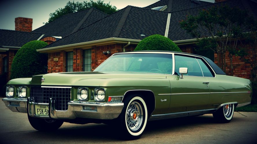 Cadillac Coupe Deville wallpaper