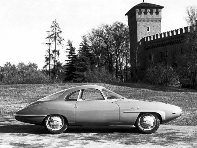 1957 Alfa Romeo Giulietta Sprint Speciale retro f wallpaper