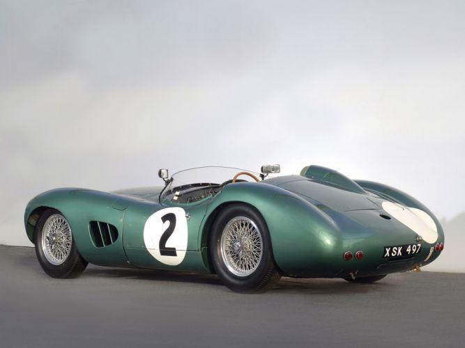 1957 Aston Martin DBR1 retro race racing supercar supercars f wallpaper