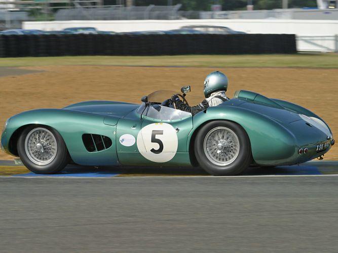 1957 Aston Martin DBR1 retro race racing supercar supercars wallpaper