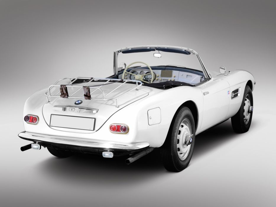 1957 BMW 507 retro supercar supercars interior         g wallpaper
