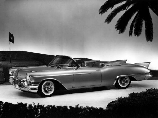 1957 Cadillac Eldorado Biarritz convertible retro luxury fd wallpaper