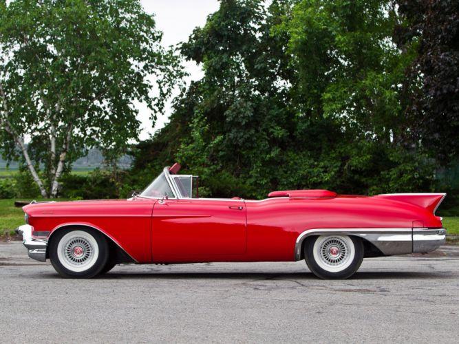 1957 Cadillac Eldorado Biarritz convertible retro luxury f wallpaper