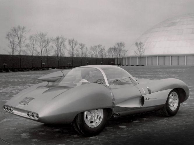 1957 Chevrolet Corvette SS XP-64 Concept s-s retro muscle supercar supercars f wallpaper