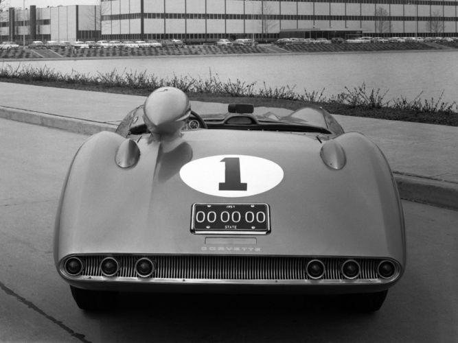 1957 Chevrolet Corvette SS XP-64 Concept s-s retro muscle supercar supercars g wallpaper