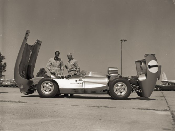 1957 Chevrolet Corvette SS XP-64 Concept s-s retro muscle supercar supercars race racing t wallpaper