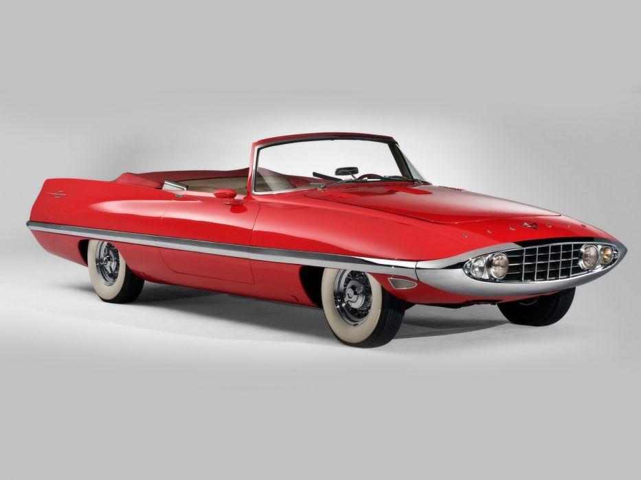 1957 Chrysler Diablo Concept retro     f wallpaper