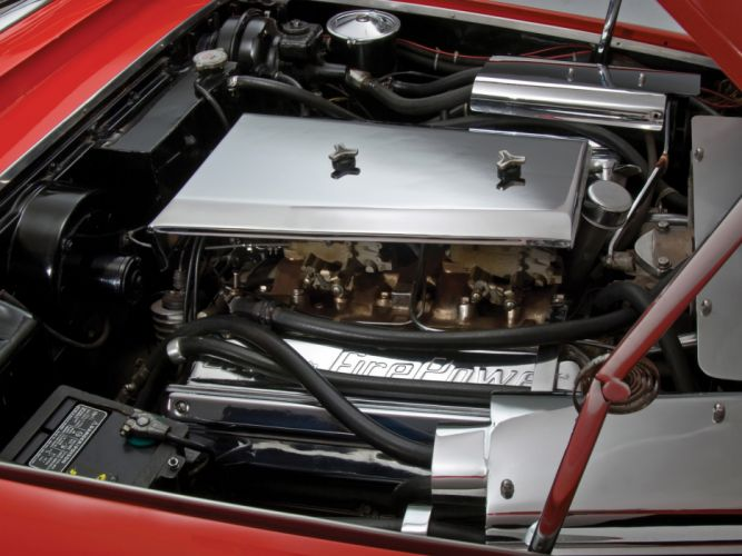 1957 Chrysler Diablo Concept retro engine engines wallpaper