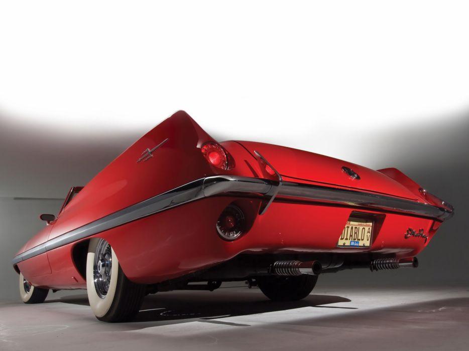 1957 Chrysler Diablo Concept retro w wallpaper