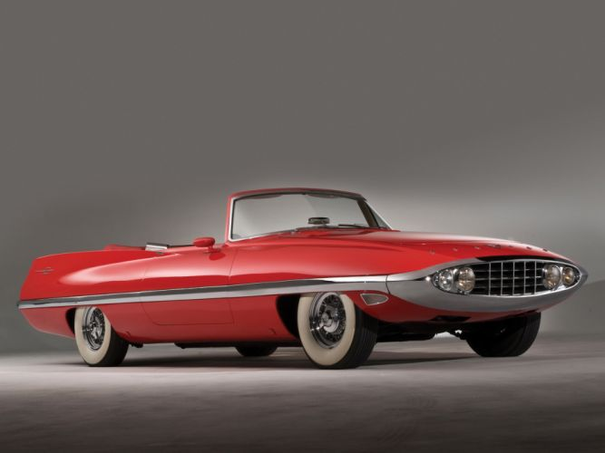 1957 Chrysler Diablo Concept retro wallpaper