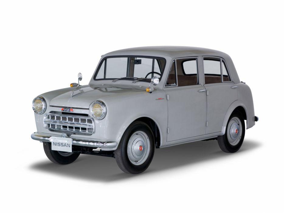 1957 Datsun 113 retro nissan wallpaper