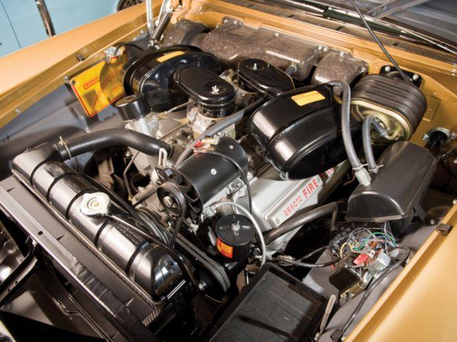 1957 DeSoto Adventurer Convertible retro luxury engine engines wallpaper