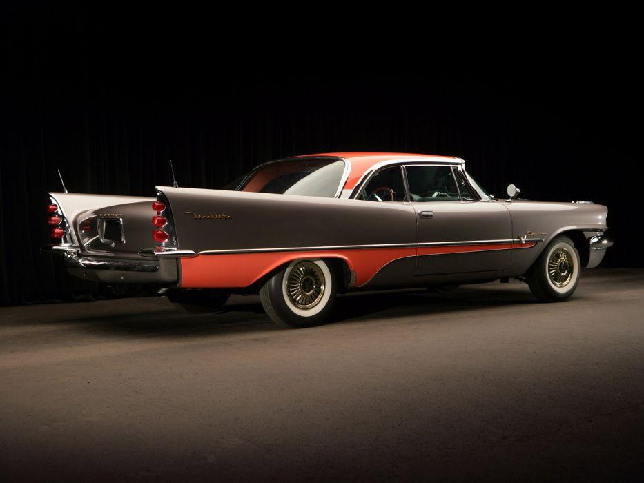 1957 DeSoto Fireflite 2-door Hardtop retro luxury  f wallpaper