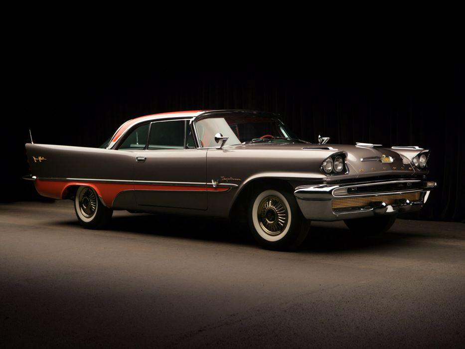 1957 DeSoto Fireflite 2-door Hardtop retro luxury wallpaper