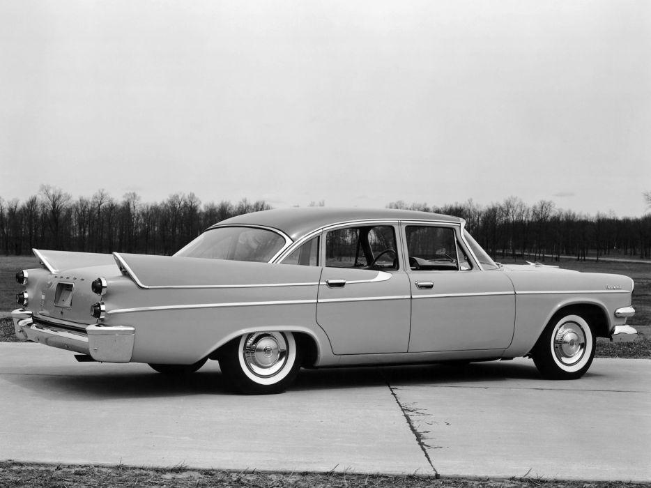1957 Dodge Royal Sedan retro     d wallpaper