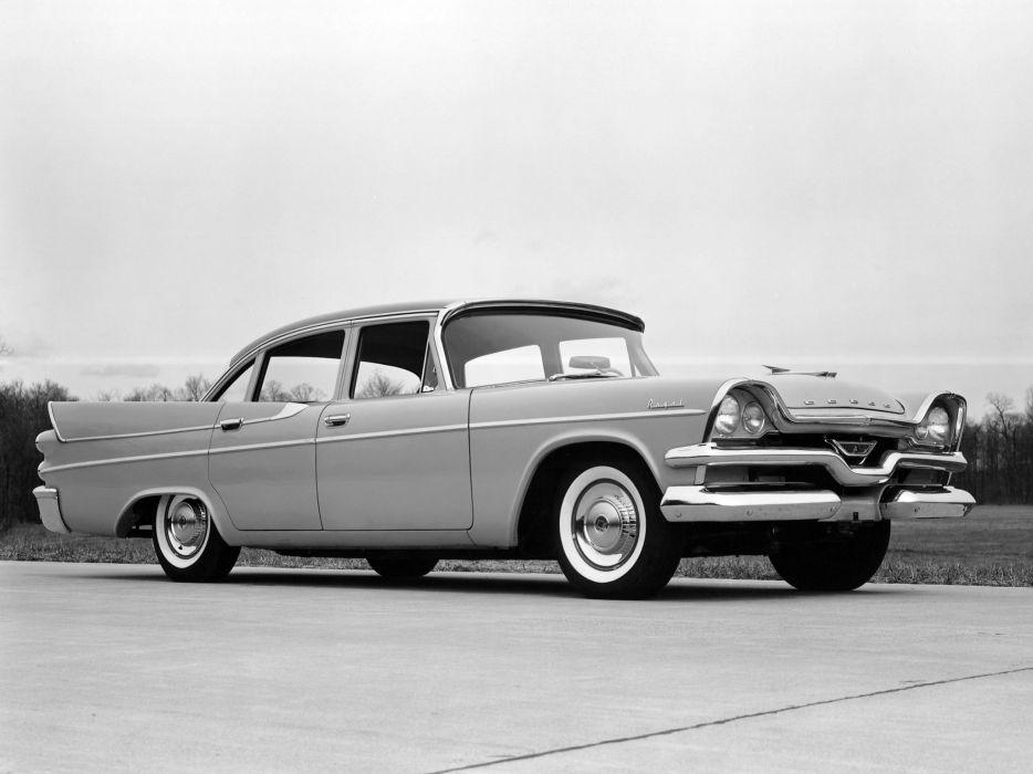 1957 Dodge Royal Sedan retro wallpaper