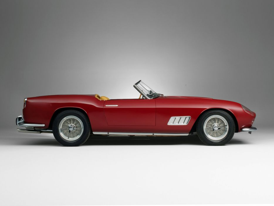 1957 Ferrari 250 GT LWB California Spyder g-t retro supercar supercars   d wallpaper