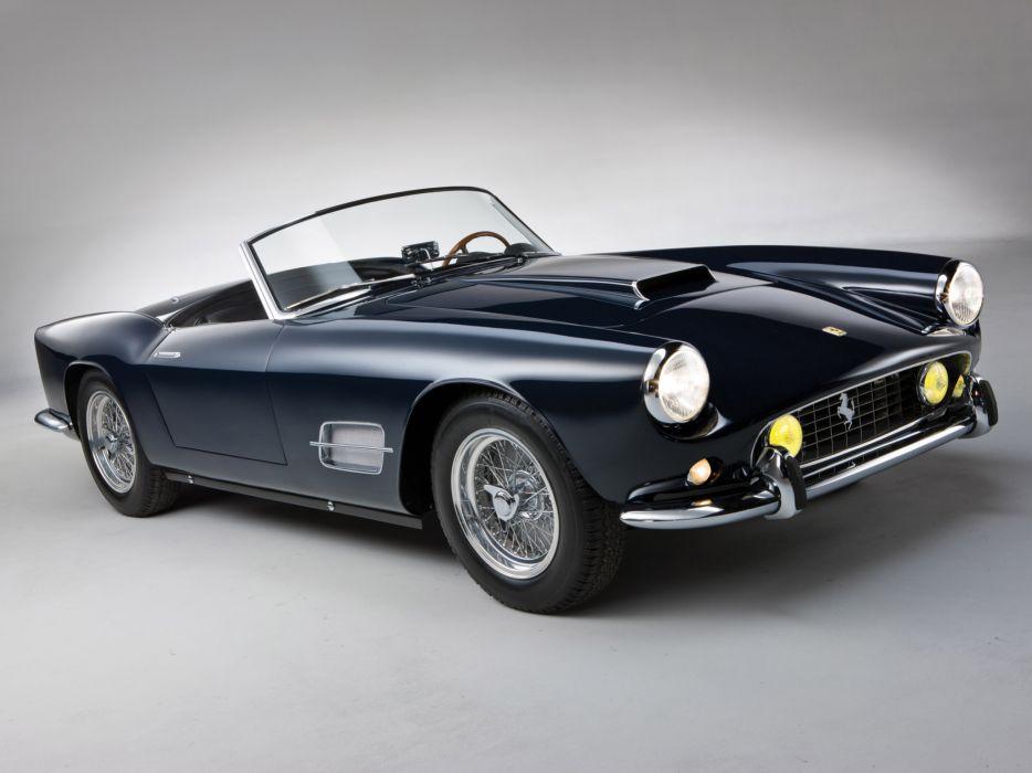 1957 Ferrari 250 GT LWB California Spyder g-t retro supercar supercars   l wallpaper