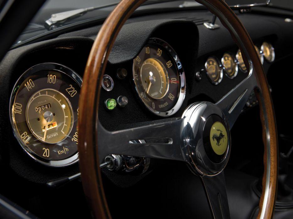 1957 Ferrari 250 GT LWB California Spyder g-t retro supercar supercars interior wallpaper